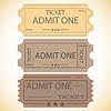Vector clipart: ticket