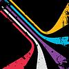 Abstrakcyjne tło linie | Stock Vector Graphics