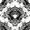 Vector clipart: Damask pattern