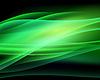 Абстрактный зеленый фон с волнами
