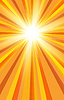 Vector clipart: Hot summer sun