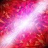 Vector clipart: Abstract red diamond background