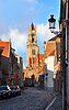 Photo 300 DPI: St. Salvador Church Tower, Bruges