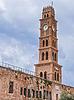 Ottoman landmark building - Han El-Umdan in Akko, | Stock Foto