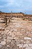 Photo 300 DPI: Ruins of ancient Romanian harbor, Caesarea, Israel