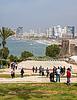Tel-Aviv beach panorama. Jaffa. Israel | Stock Foto