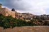 Фото 300 DPI: Иерусалим - Вид на гору Елеонскую в мечети Аль-Акса