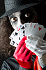 ID 3351714   Joker with cards shoot   High resolution stock photo   CLIPARTO