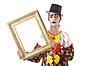 ID 3368498 | Sad clown on white | High resolution stock photo | CLIPARTO
