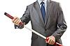 商人与剑 | 免版税照片