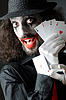 ID 3373745 | Joker with cards shoot | High resolution stock photo | CLIPARTO