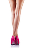 Long woman legs | Stock Foto