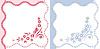 Vector clipart: Frame congratulations newborn