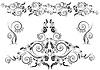 Vector clipart: floral design