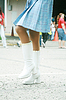 ID 3357429 | Девушка использованием красивых сапогах на парад | Фото большого размера | CLIPARTO