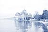 Фото 300 DPI: Шильонский замок, Женевского озера (Lac Leman), Швейцария