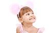 ID 3358653 | Dziewczynka ma na sobie uszy myszy `s | Foto stockowe wysokiej rozdzielczości | KLIPARTO