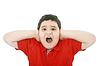 ID 3358866   Horizontal young boy yelling   High resolution stock photo   CLIPARTO