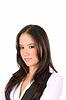 예쁜 눈을 가진 매력적인 젊은 여자   Stock Foto