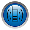 Photo 300 DPI: Mobile phone icon