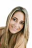 美丽的女人,宏伟的头发的照片 | 免版税照片