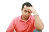 Sad, desperate man in pain | Stock Foto