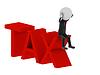 ID 3360973 | Tax. 3d human character | Stockowa ilustracja wysokiej rozdzielczości | KLIPARTO