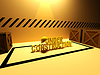 Under construction sign 3d | Stock Illustration