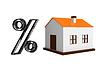 Credit for housing | Stock Illustration