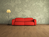 ID 3370871 | Red sofa | High resolution stock illustration | CLIPARTO