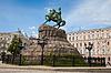 Photo 300 DPI: Hetman Bogdan Khmelnitsky statue in Kiev, Ukraine