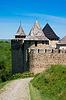 Mittelalterliche Burg | Stock Foto