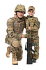 Military Father and Son | Stock Foto