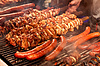 ID 3375126 | Steak and other meat on barbeque. Background | High resolution stock photo | CLIPARTO