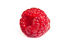 ID 3375150 | Single fresh raspberry, on white. macro shot | High resolution stock photo | CLIPARTO