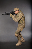 Soldier with rifle | Stock Foto