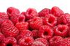 Ripe fondo frambuesas fruta. Іsolated | Foto de stock