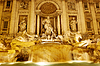 Trevi Fountain - famous landmark in Rome | Stock Foto