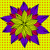Vector clipart: Hand-Drawn doodle flower