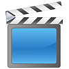 Vector clipart: Film slate background