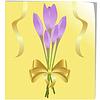 Векторный клипарт: куча безвременник цветы