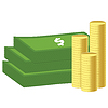 Vector clipart: Money icon