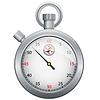Vector clipart: Stopwatch time icon