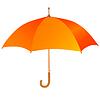 Vector clipart: Orange umbrella icon