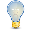 Light bulb web icon | Stock Vector Graphics