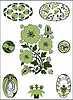 Art Nouveau - flower pattern | Stock Vector Graphics