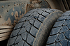 Photo 300 DPI: Dump Truck Tires