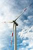 风力发电机 | 免版税照片