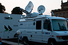 Photo 300 DPI: Broadcast Truck of SWR in Stuttgart, Germany