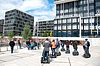 Segway Introduction and tour | Stock Foto